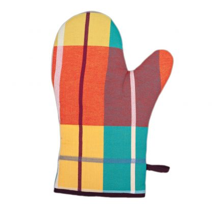 ensemble-gant-et-manique-tissu-madras-4